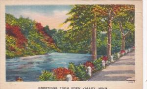 Minnesota Greetings From Eden Valley 1960