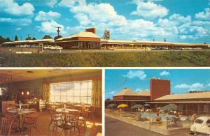 Jessup Maryland Parkway Manor Motel Multiview Vintage Postcard K86895