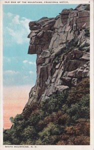 Old Man Of The Mountains Franconia Notch White Mountains New Hampshire