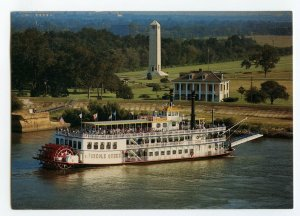 Postcard Creole Queen New Orleans LA Paddlewheel Boat Continental View Card
