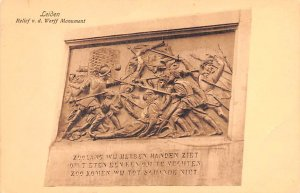 Relief vd Werff Monument Leiden Holland Unused
