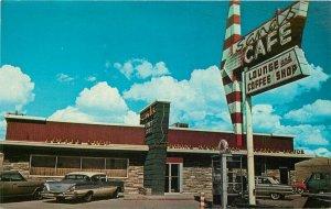 Autos Chevrolet Sands Hotel Rock Springs Wyoming Postcard MR Photos 20-6784