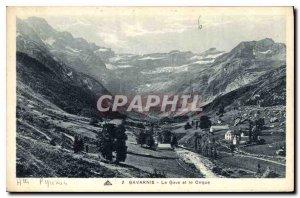 Old Postcard Gave Gavarnie and Cirque