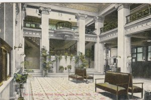 LITTLE ROCK , Arkansas , 1900-10s ; Hotel Marion , Lobby