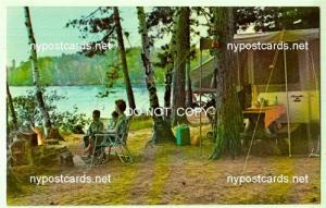 Camping in Adirondacks