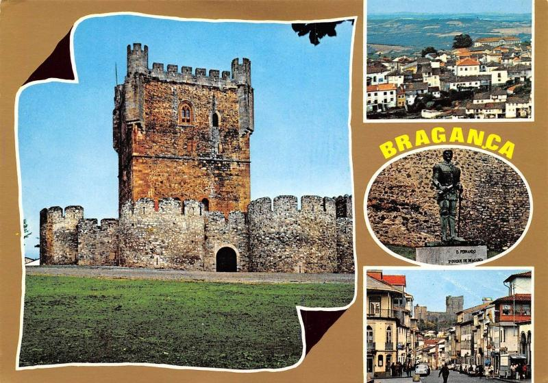 Portugal Braganca Town with many monuments and thermal places