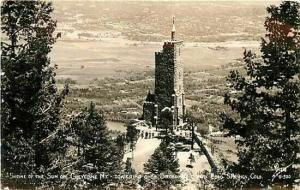 CO, Colorado Springs, Colorado, RPPC, Shrine of the Sun