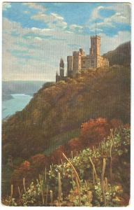 Germany, Schloss Stolzenfels, early 1900s unused Postcard