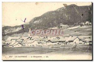 Old Postcard The Dauphine Montgenevre