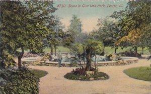 Illinois Peoria Scene In Glen Oak Park