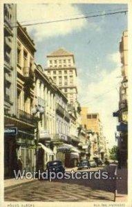 Porot Alegre Rua Dos Andradas Brazil, Brasil, Bresil Writing on back