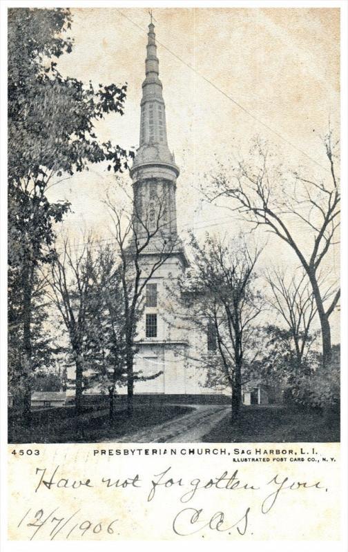 19354 NY Sag  Harbor  Presbyterian Church