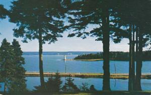 Light House on Bras D'Or Lake - Baddeck NS, Nova Scotia, Canada