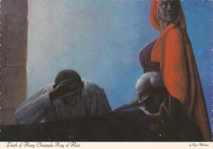 Red Carpet Art Gallery , PETIONVILLE , Haiti , 50-60s Painting by Markham , Kyra
