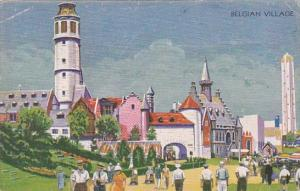 Belgian Village Chicago World's Fair 1933