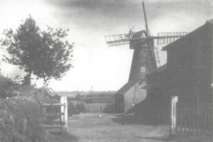 Limited Edition Postcard, Coleshill Mill, Windmill, Buckinghamshire 81M