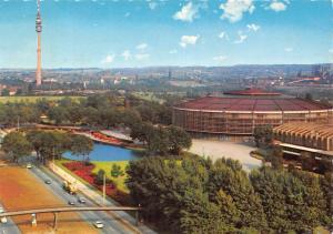 Dortmund Fernsehturm Westfalenhalle Strasse Auto Cars Tower Panorama