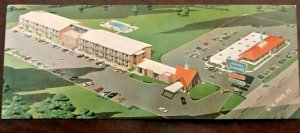 Howard Johnson Motor lodge, Joplin Missouri Host Of The Highways Postcard
