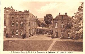 Jolimont Belgium, Belgique, Belgie, Belgien Institut des Soeurs de ND de la C...