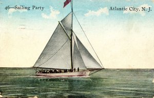 NJ - Atlantic City. Sailing Party