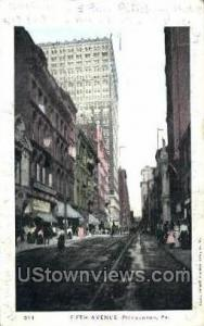 Fifth Ave. Pittsburgh PA 1905
