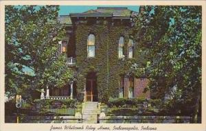 Indiana Indianapolis James Whitcomb Riley Home