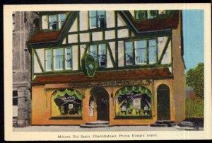 Prince Edward Island CHARLOTTETOWN Miltons Old Spain - PECO White Border