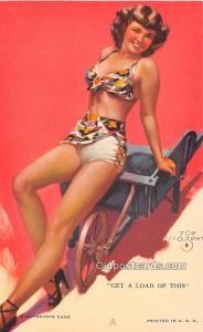Get a Load of This, Zoe Mozert 1945 Mutoscope Artist Pin Up Girl, Non Postcar...