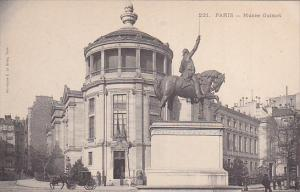 PARIS, France, 1900-1910's; Musee Guimet