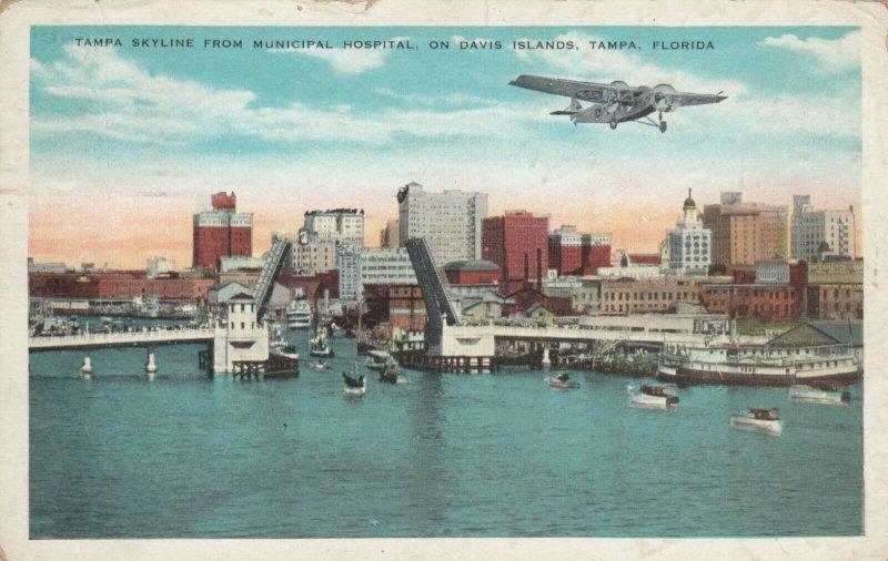 TAMPA , Florida , 1931 ; Skyline