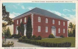 Virginia Alexandria Between Fredericksburg And Alexandria 1935