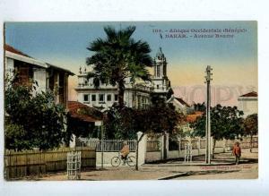 203209 Senegal DAKAR Roume street Vintage postcard
