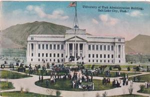 Utah Salt Lake City Administration Building University Of Utah