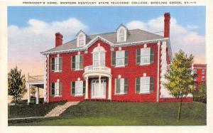 Bowling Green~Western Kentucky State Teachers College~Phys Ed Bldg~1940s Linen