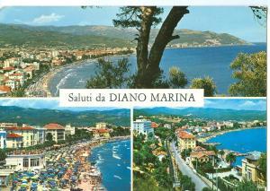 Italy, Saluti da Diano Marina, 1968 used Postcard