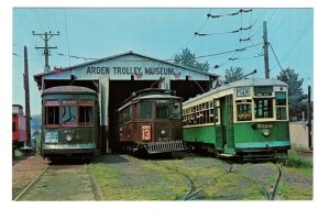Arden Trolley Museum, Washington, Pennsylvania,