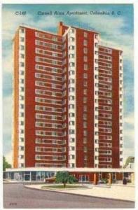 Cornell Arms Apartment, Columbia, South Carolina, 30-40s