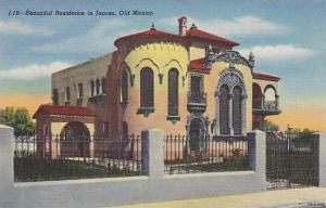 Beautiful Residence in Juarez, Old  Mexico, 30-40s