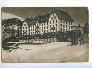 235436 SWITZERLAND DAVOS Basler sanatorium Vintage postcard