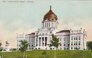 Montana Helena State Capitol Building 1908