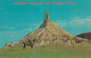 Nebraska Chimney Rock On The Oregon Trail Near Bayard
