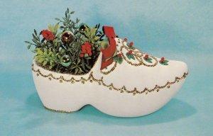 CHRISTMAS decoration , 1950-60s ; Santa's Dreamboat