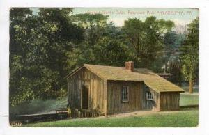 General Grant's Cabin, Fairmount Park, Philadelphia, Pennsylvania, 1910 PU