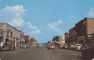 MOLINE , Illinois , PU-1956; Downtown View looking East