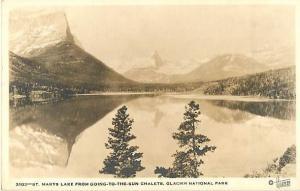 RP Saint Marys Lake, Glacier National Park, Montana, MT, AZO Matt surface
