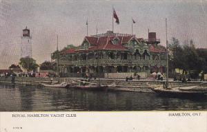 Canada Royal Hamilton Yacht Club Hamilton Ontario 1910
