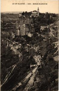CPA  Le Lot Illustré - Rocamadour  (224147)