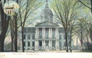Concord, New Hampshire, NH State Capital, Capitals Postcard Post Card USA  Co...