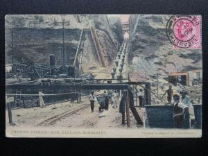 South Africa KIMBERLEY - PREMIER DIAMOND MINE HAULAGE c1907 Postcard by Hallis