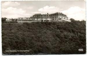 germany, SIEBENGEBIRGE, Hotel Petersberg (1970s) RPPC